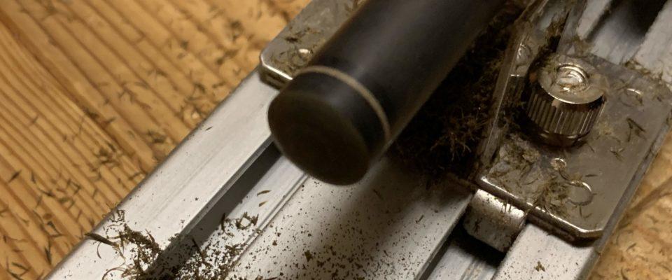 デザイヤを使用した樹脂タップ交換